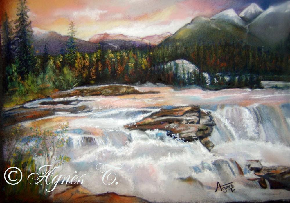 AgnesT-pastels-Cascade